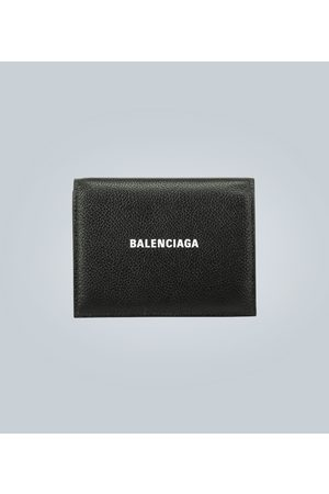 Balenciaga Leather logo wallet