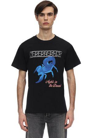 NASASEASONS Scorpio Glitter Logo Cotton T-shirt