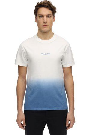Stella McCartney Logo Degradé Print Cotton Jersey T-shirt