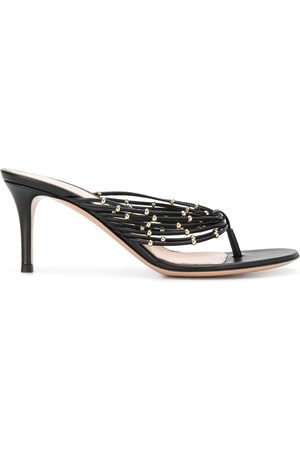 Gianvito Rossi Naiset Sandaletit - Beaded detail stiletto heel sandals