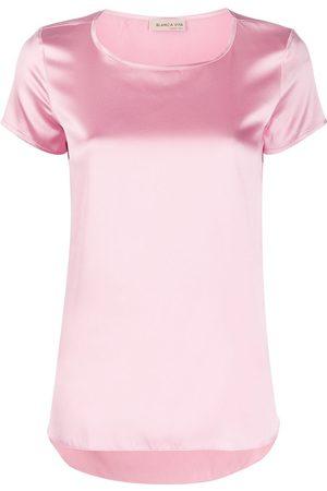 BLANCA Naiset T-paidat - Tania silk T-shirt