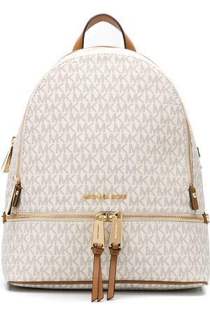 Michael Kors Naiset Reput - Medium Rhea logo-print backpack
