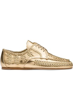 Prada Naiset Loaferit - Calf leather lace-up shoes