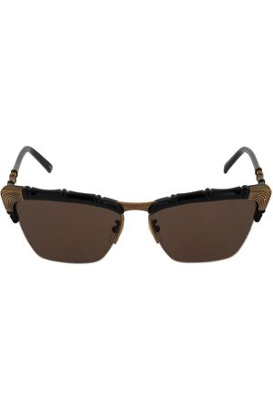 Gucci Naiset Aurinkolasit - Bamboo Effect Cat Eye Sunglasses
