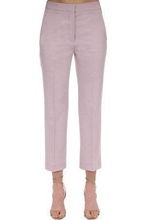 Stella McCartney Naiset Stretch - Flared Tailored Stretch Wool Pants