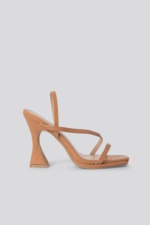 Raid Naiset Sandaalit - Korkeakorkoiset Sandaalit - Nude