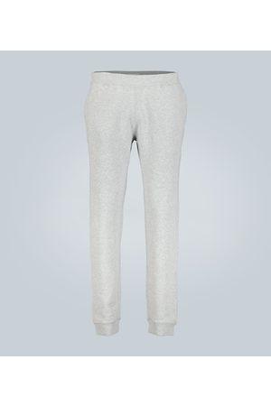 Sunspel Miehet Collegehousut - Cotton loopback trackpants