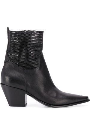 Premiata Naiset Nilkkurit - 70mm panelled ankle boots