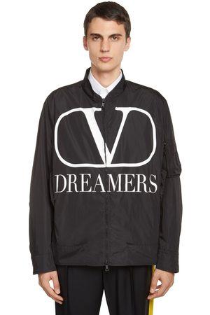 VALENTINO V Logo Dreamers Printed Jacket