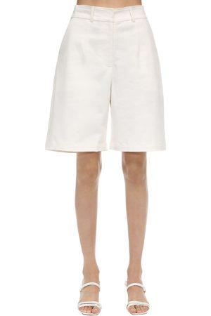 AYA MUSE Poplin Bermuda Shorts