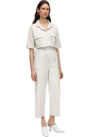 Zeynep Arcay Naiset Haalarit - Utility Leather Jumpsuit