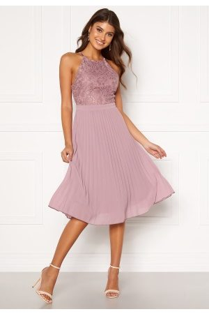 Moments New York Casia Pleated Dress Old rose 34