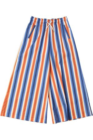 Marni Tytöt Leggingsit - Striped Cotton Culottes