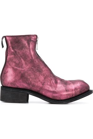GUIDI Naiset Nilkkurit - Metallic ankle boots