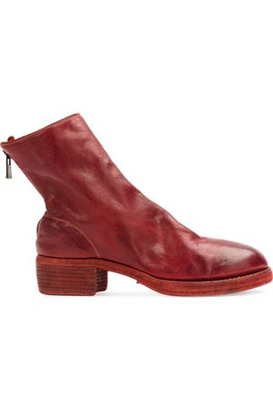 GUIDI Naiset Nilkkurit - Zip detail ankle boots
