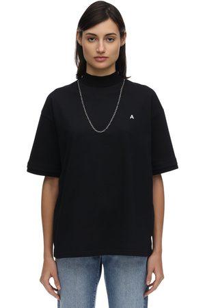 AMBUSH Logo Cotton Jersey T-shirt