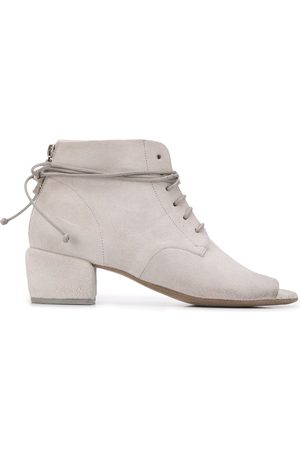 MARSÈLL Peep toe lace-up boots