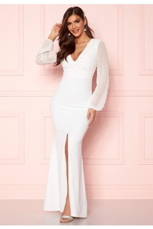 Chiara Forthi Felicienne pearl gown White 38