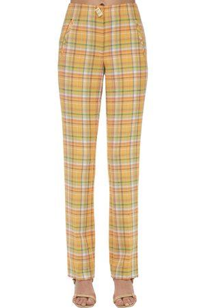 REJINA PYO Norma Cotton Blend Straight Pants