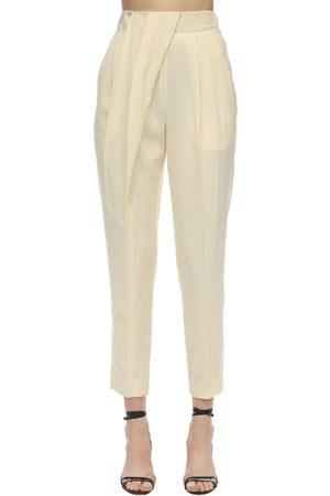 Proenza Schouler High Waist Light Viscose Slim Pants