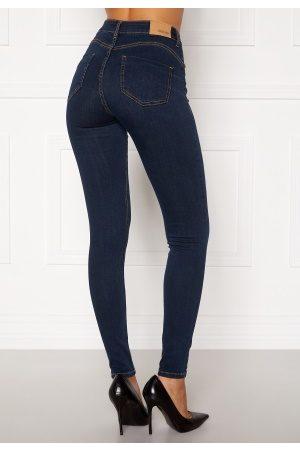 BUBBLEROOM Naiset Farkut - Miranda Push-up jeans Midnight blue 36