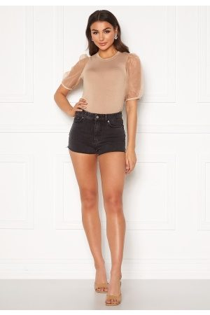 Dr Denim Skye Shorts Retro Black 24