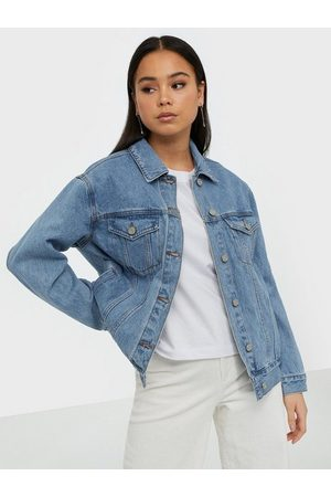 Missguided Oversized Denim Jacket