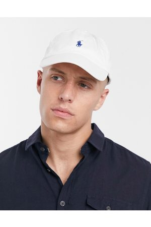 Polo Ralph Lauren Logo baseball cap in white
