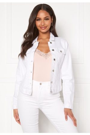Happy Holly Skyler denim jacket White 52