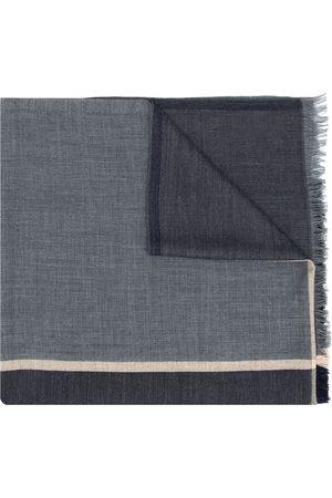 Brunello Cucinelli Miehet Huivit - Colour-block knitted scarf