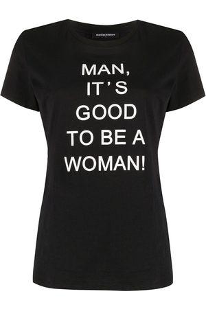 Marlies Dekkers Naiset T-paidat - Man, it's good to be a woman' T-shirt