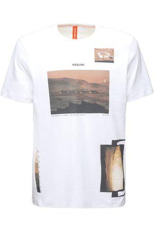 CHRISTOPHER RAEBURN Miehet T-paidat - Ræ Gallery Cotton Jersey T-shirt