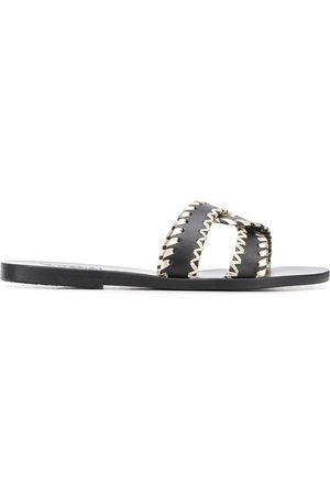 Ancient Greek Sandals Naiset Varvassandaalit - Desmos sandals