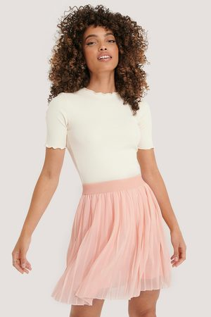 NA-KD Mini Pleated Skirt - Pink