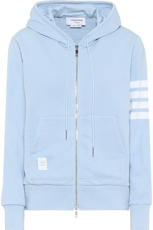 Thom Browne Naiset Hupparit - Cotton-jersey hoodie