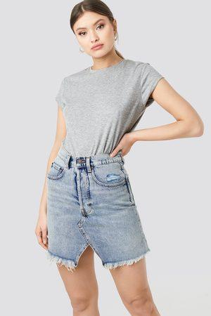 Cheap Monday Naiset Minihameet - Shrunken Skirt - Blue