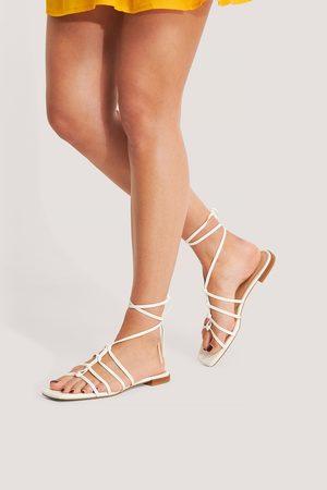 NA-KD Sandaalit - Offwhite