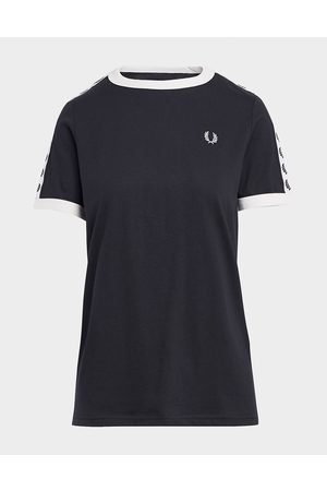 Fred Perry Tape Ringer T-Shirt - Womens