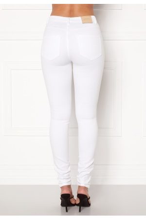 Only Naiset Farkut - Royal HW Jeans White XL/32