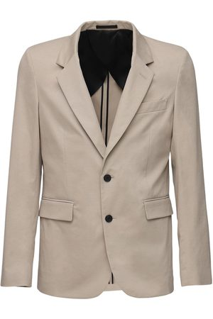 THE ROW Slater Cotton & Cashmere Blazer