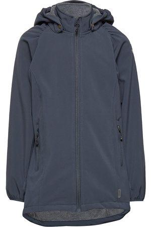 Mikk-Line Softshell Girls Coat Outerwear Softshells Softshell Jackets