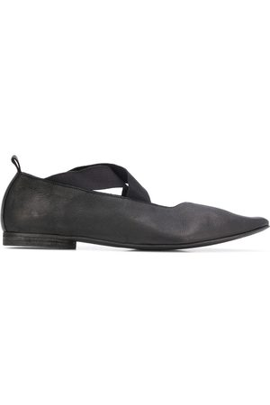 UMA WANG Naiset Balleriinat - Crisscross strap pointed toe ballerinas