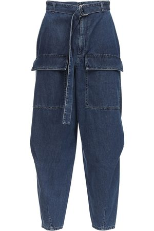 Stella McCartney Tapered Cotton Denim Jeans