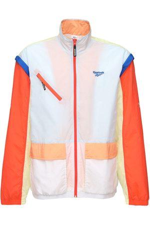 Reebok Zip Off Nylon Track Jacket