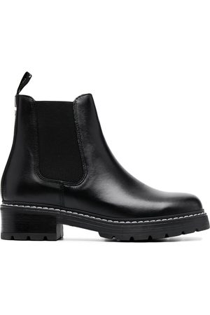 Carvela Naiset Nilkkurit - Contrasting stitch ankle boots
