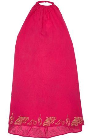 INFANTIUM VICTORIA Tytöt Printtimekot - Butterfly Print Organic Cotton Dress