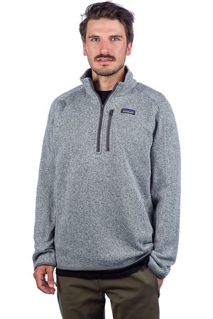 Patagonia Miehet Neulepaidat - Better Sweater 1/4 Zip Fleece Pullover