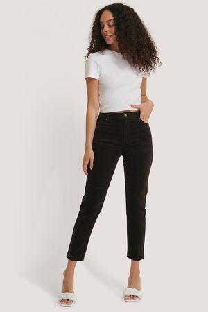 MANGO Newmom Trousers - Brown