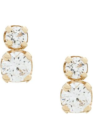 Zoe Chicco 14kt yellow diamond studs