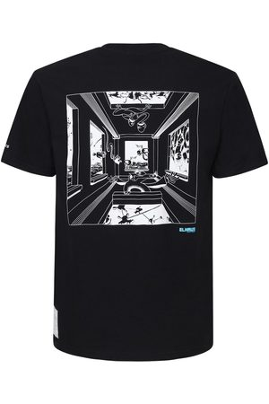 ELHAUS Window Print Jersey T-shirt